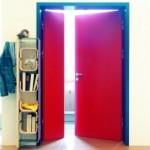 Behindertengerechte Tür 2-flügelig
