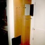 Garderobenpanel mit Revisionstüren