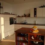 Küche hochglanz lackierte Fronten
