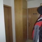 Bürogarderobe in Birke