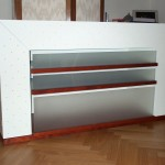 Sideboard mit Seitenschränken und CD Schubladen