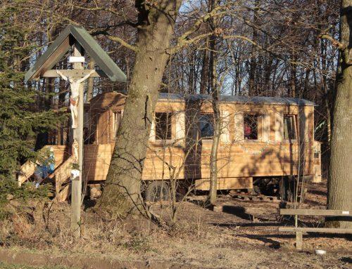Tinyhouse-Waldkindergartenwagen
